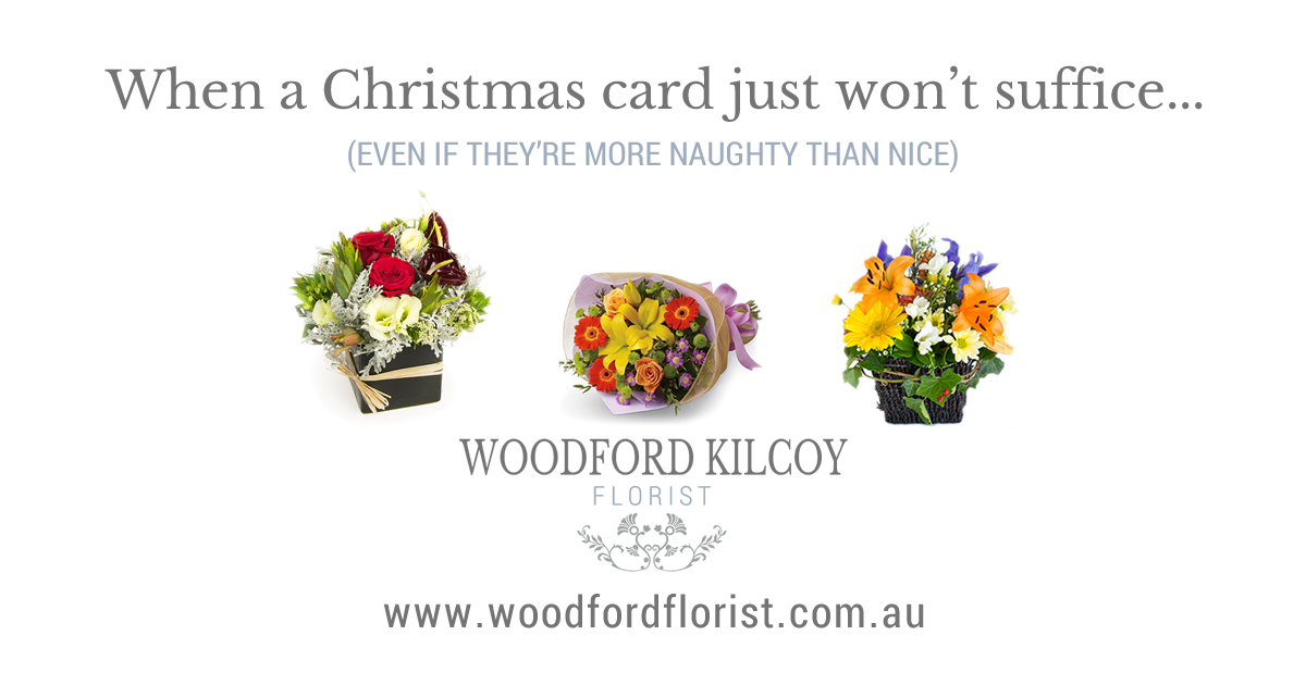 Woodford Kilcoy Florist - Christmas Website Launch
