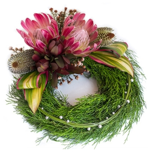 Flowers - Banksia Wreath