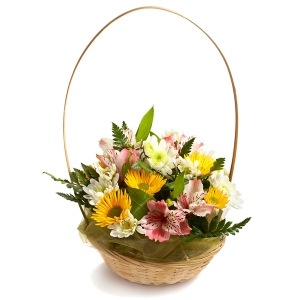Flowers - Cottage Basket