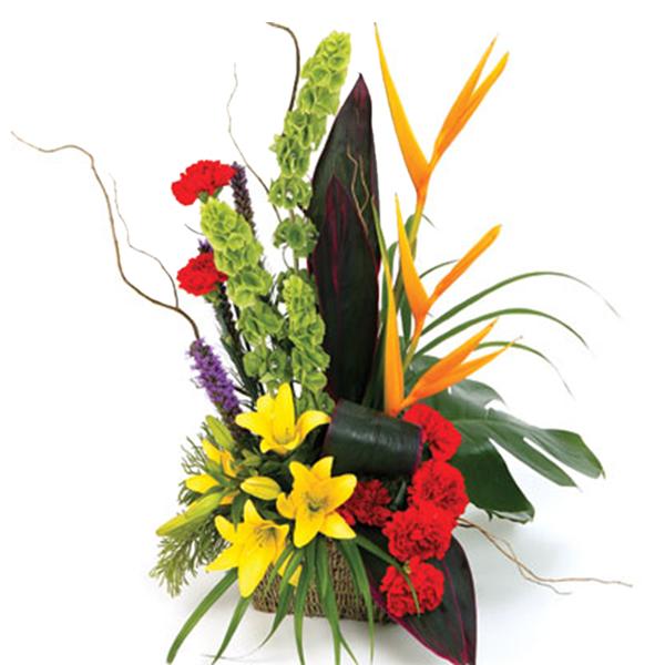 Букет фигурка из цветов для мужчины без, доставка